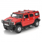 MeiZhi U25020A 1:24 Scale 2-CH 27MHz Remote Controlled R/C Car Model Toy - Red (5 x AAA)