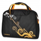 "Canyon NB22 Water Resistant PE Cotton Carrying & Shoulder Bag for 12.1"" Laptop - Black + Orange"