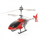 WMZ12010-01 Rechargeable 2.5-Channel 180mAh R/C Helicopter - White + Red + Black + Silver
