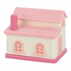 ZhenXing YH5845 Cute House Style Automatic Toothpick Holder - Pink + White