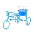 Exquisite Bicycle Style Aromatic Smokeless Candle - Blue