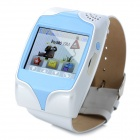 "Googme GW101 GSM Watch Phone w/ 1.5"" Resistive Screen, Quad-Band, GPS, SOS and Single-SIM - White"
