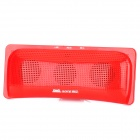 Aoni D511 Portable Pillow Style Media Player Speaker w/ TF / FM - Red