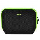 "Canyon NB11A Nylon Mesh Fabric Sleeve Bag for 10"" Laptop - Black + Green"