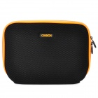 "Canyon NB11A Nylon Mesh Fabric Sleeve Bag for 10"" Laptop - Black + Orange"
