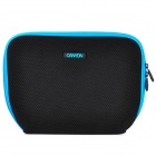 "Canyon NB11A Nylon Mesh Fabric Sleeve Bag for 10"" Laptop - Black + Blue"