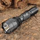 UltraFire SH-C10 Cree XM-L T6 800lm White 5-Mode Memory Flashlight - Black (1 x 18650)