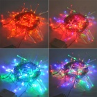 25W 100-LED Holiday Christmas Decorative Multi-color String Light (220~250V / 2-Round-Pin Plug)