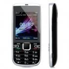 "A300 GSM Bar Phone w/ 2.4"" LCD Screen, Dual-Band and Dual-SIM - Black"