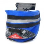 Cycling Bicycle Bike Fashion Saddle Seat Tail Bag - Blue + Black