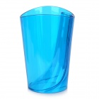 JD-118 Kreative Anti-Scaling-Tooth-Becher w / Zahnbürstenhalter - Translucent Blue