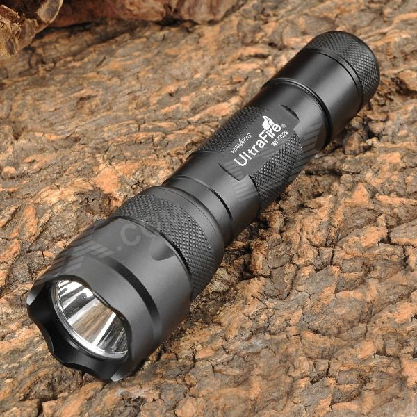 UltraFire 502B 2-Mode 700lm White Flashlight - Black (1 x 18650) oem qq 55hrc 420
