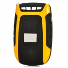 "Aoni L1 Portable 1.2"" LCD Media Player Speaker w/ TF / FM - Yellow + Black"