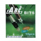 ABC eléctrico Destornillador Phillips Bits Set - Gris (4 mm / 1,6 mm)