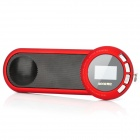 "Aoni L1 tragbare 1,1 ""LCD Media Player Speaker w / TF / FM - Red + Black"