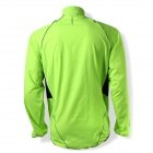 SPAKCT CSY205B Bicycle Cycling Reflective Strip Long Sleeves Jersey - Luminous Green (Size L)