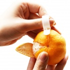 Convenient and Practical Ring Style ABS Tangerine Peel Device - White