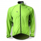 SPAKCT CSY205B Bicycle Cycling Reflective Strip Long Sleeves Jersey - Luminous Green (Size XXXL)