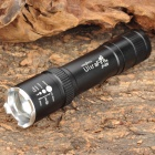 UltraFire JP-006 3-Mode 270lm White Zooming Flashlight - Black (1 x 18650)