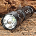 UltraFire 501B 700lm 2-Mode White Flashlight - Black (1 * 18650)