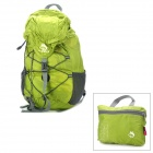 HASKY CY-0972 Outdoor Sports 32L Folding Waterproof Nylon Cloth Shoulder Bag - Green