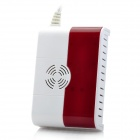 YL007 QG-02 Wireless Gas Detector - White + Purplish Red (EU Plug / AC 110~220V)