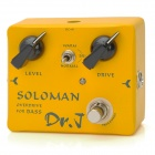 JOYO DR.J D52 DRJ Soloman Bass Overdrive - Yellow + Black