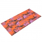 Outdoor Sports Bicycle Cycling Seamless Head Scarf - Orange + Purple + Black