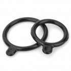Silicone O-Ring Seal Mounting Bands for Headlamp - Black (2 PCS)