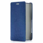 ROCK Protective Flip-Open PU Leather Case for Sony LT30P - Royalblue