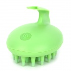 R00071 Rabbit Style Head Vibrating Massager - Green ( 2 x AAA)