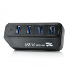 Super Speed ​​4-портовый концентратор USB 3.0 - Black