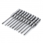 ABC Electric Screwdriver Phillips Bits Set - Grey (4mm / 2mm)