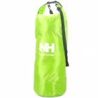 NatureHike Outdoor Sports Oxford Cloth Waterproof Dry Bag for Floating - Luminous Green (25L)