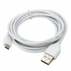 Micro USB Male to USB Male Data Charging Cable for Amazon Kindle 3 / 4 / Kindle Touch - White (1.8m)