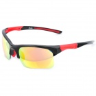 OREKA 006 Red REVO Lens Sports Riding Goggles Sunglasses - Black Frame