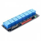 8 Channel 5V Relay Module - Black + Blue