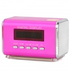 "TAICHEN TC-FSP1000 Portable 1.5"" Screen Media Player Speaker w/ TF / FM - Pink"