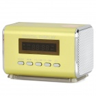 "TAICHEN TC-FSP1000 Portable 1.5"" Screen Media Player Speaker w/ TF / FM - Yellow Green"