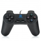 SZ-701 USB 2.0 Wired PC Game Joypad Controller - Black (140cm-Cable)