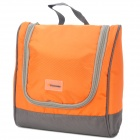 Panon PN-2957 Water Resistant Outdoor Travel Kulturbeutel Kits Storage Bag - Orange + Grau