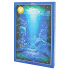 10-122 DIY Luminescent Zodiac Sign Series Puzzle - Pisces (1000-Piece)