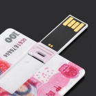 Creative RMB100 Style USB 2.0 Flash Drive - Pink + White (4GB)