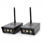 WL1207 2.2GHz / 2.3GHz / 2.4GHz Wireless 4-Channel Audio / Video Sender Transmitter Receiver - Black