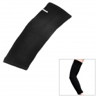 Lenwave Outdoor Sports Extended Nylon + Latex Silk Arm Support - Black