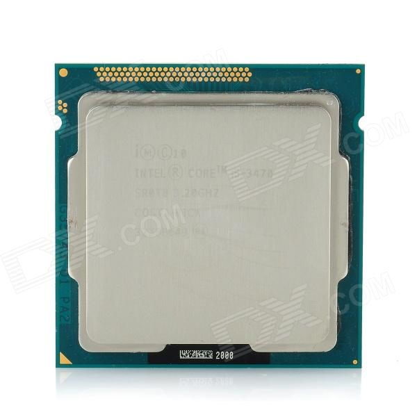 Intel Core i5 3470 Ivy Bridge 3.2GHz LGA 1155 22nm DDR3 77W Intel HD Graphic 2500 Desktop Processor asus p7h55 m desktop motherboard h55 socket lga 1156 i3 i5 i7 ddr3 16g atx uefi bios original used mainboard on sale