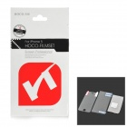 HOCO Protective Clear Screen Front + Back Protector Guard Film for Iphone 5 - Transparent
