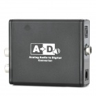 3089 Analog Audio to Digital Coaxial / Optical Converter - Black