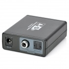 Analog Audio to Digital Coaxial / Optical Converter - Black