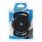 Universal 52 / 58 / 67mm Lens Cap Holder Buckle for Cameras - Black